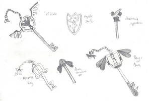 Weapon Design #1 by Dracoknight545