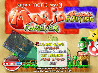 Mario Forever - Title Screen by softendo
