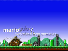 Mario Forever Wasteland by softendo