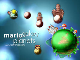 Mario Game - Planets by softendo