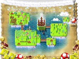 Super Mario, Map by softendo