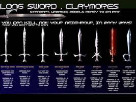 Swords , Chaos Swords items by softendo