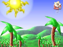 Bod Blob - Jungle Scenery by softendo