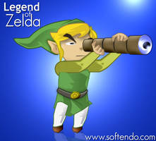 Legend of Zelda - Hero by softendo
