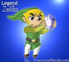 Legend of Zelda - Hero Diamoun by softendo