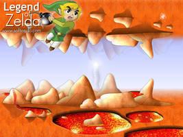 Legend of Zelda - Volcano by softendo