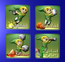 Legend of Zelda - Game Cards by softendo