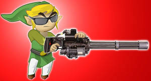 Legend of Zelda Minigun by softendo