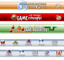 Old Buziol Games Site Thumbs by softendo