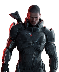 Mass Effect 3 Render by N4PCroft