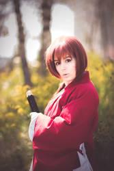 Kenshin Himura Cosplay - Oro? by WorstWaifu