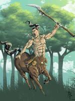 Warrior Centaur by Baldobaldari
