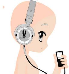 headphone base by khl1
