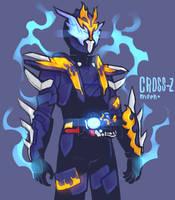 Kamen Rider Cross-Z by MeensArts
