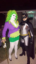 Rule 63 Joker and Batman by SabrinaPandora