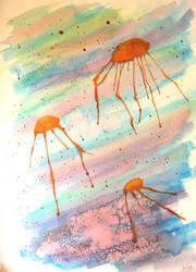 Jellyfish 2 by galvanicprince
