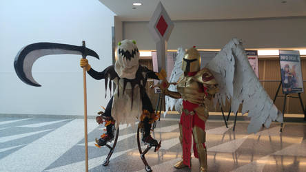 Fiddlesticks and Kayle by AndurilWielder