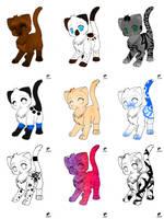 Cat Adopts by Ohai-thur