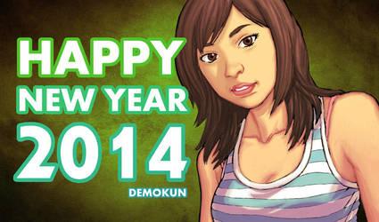 Happy New Year 2014 By Demokun by Demokun54