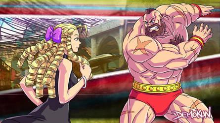 SFV Karin VS Zangief Story Mode By Demokun by Demokun54