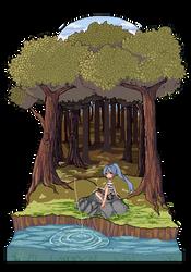 Cho Fishing by akifei