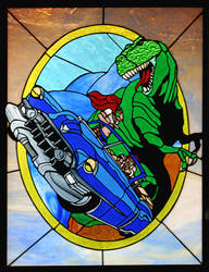 Cadillacs and Dinosaurs by charlie98210