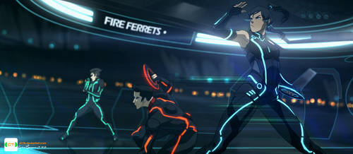 TRON: Legend of Korra by dCTb