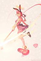 Annie Magical Girl by dCTb