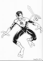 Nightcrawler Con Sketch by jetcomics
