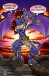 Demona at Dawn by jetcomics