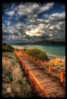 Wooden Boardwalk by colpewole