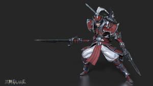 Three Kingdoms Blade: Taesaja / Taishi Ci by dreamsofthursday