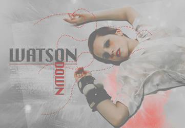 Watson Down - Emma Watson by Liddl15
