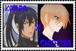 Yuu Kanda x Chihiro Hoshakuji Stamp by albertxlailaxx