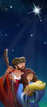 Nativity of Christ by pushfighter