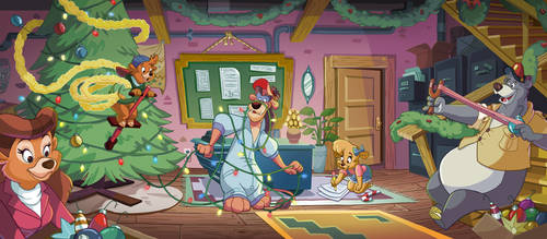 Talespin X-Mas by pushfighter