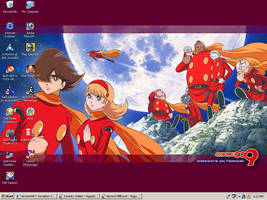 Cyborg 009 Desktop by Blue-Ark