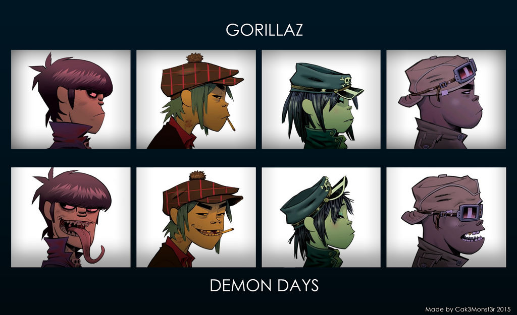 Gorillaz Demon Days Wallpaper By Cak3monst3r On Deviantart