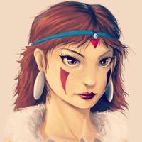 Princess Mononoke by khuon