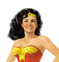 Classic Wonder Woman by khuon