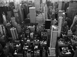 New York in black and white by bozonio