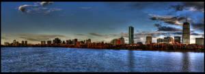 Boston Panorama by bozonio