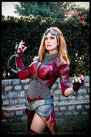 Magic the Gathering: Chandra Nalaar by ferpsf