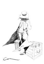 cowboy by denerimon