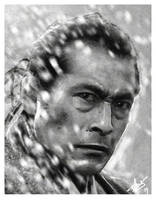 Toshiro Mifune III by DanielMurrayART