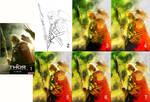 Odin - Basic Photoshop Process by DanielMurrayART