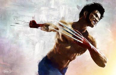 The Wolverine by DanielMurrayART