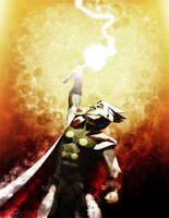 The Mighty Thor IV by DanielMurrayART