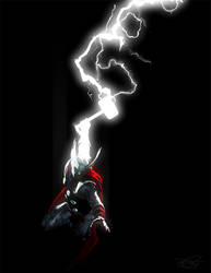 The Mighty Thor V by DanielMurrayART