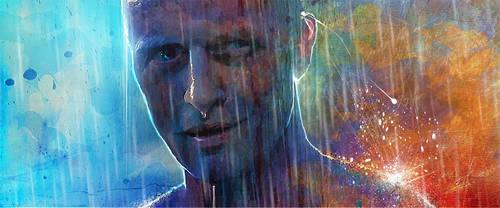 Roy Batty - Blade Runner by DanielMurrayART